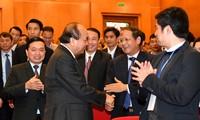 PM Nguyen Xuan Phuc menghadiri Konferensi Promosi Investasi Cao Bang
