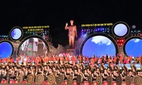 Festival Budaya Gong dan Bonang daerah Tay Nguyen 2018