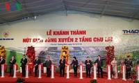 PM Nguyen Xuan Phuc menghadiri acara mengumumkan penyesuaian perancangan Zona Ekonomi Terbuka Chu Lai