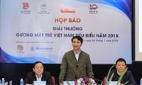 Penghargaan Pemuda Viet Nam tipikal tahun 2018