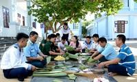 Kehangatan Hari Raya Tet antara tentara dan rakyat di Kabupaten Kepulauan Truong Sa