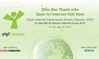 Untuk pertama kalinya mengadakan Forum Pemuda Manajer Internet Viet Nam