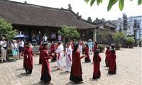 Pesta Kuil menyembah Raja Hung: Menyebar-luaskan seni nyanyi lagu rakyat Xoan