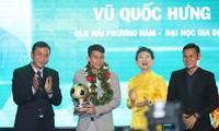 Pemain Vu Quoc Hung-Bola emas Futsal Viet Nam
