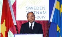 PM Nguyen Xuan Phuc menemui Ketua Parlemen Swedia, Andreas Norlen