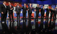 US Republican presidential candidates engage in first debate