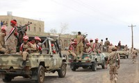 Government forces triumph in southern Yemen