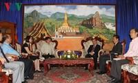 VOV supports Lao National Radio