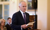 Malcolm Turnbull sworn in as new Australian Prime Minister