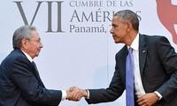 Cuba's President Raúl Castro arrives in New York City