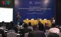SOM 3- APEC 2017: ຊຸກຍູ້ວິສາຫະກິດ ເຂົ້າຮ່ວມລະບົບສະໜອງທົ່ວໂລກ ກ່ຽວກັບການບໍລິການ Logistics