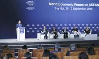 WEF ASEAN 2018: ສ້າງທີ່ຕັ້ງບົດບາດໃຫ້ແກ່ ອາຊຽນ ໃນການເຊື່ອມໂຍງ