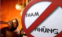 Legislativo vietnamita determinado a erradicar corrupción