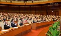Inician III período de sesiones del Parlamento vietnamita, XIV legislatura