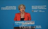 Theresa May alienta su campaña electoral con declaración sobre Brexit