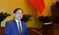 Legislativo vietnamita sigue la agenda de su tercer período con debates sobre la ley tecnológica