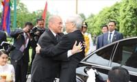 Continúa la agenda de trabajo del titular político de Vietnam en Camboya