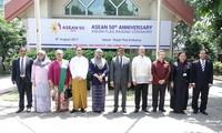 Miembros de Asean en Bangladés celebran el 50 aniversario de la fundación del bloque