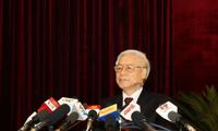 El VI pleno del Partido Comunista de Vietnam culmina con éxito