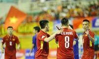Equipo de futsal vietnamita avanza a cuartos de final del Campeonato Asiático