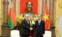 Presidente vietnamita aplaude cooperación con Bielorrusia