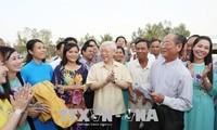 Líder partidista de Vietnam revisa el desarrollo socioeconómico de An Giang