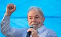 Lula da Silva encabeza en encuestas electorales en Brasil