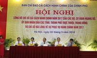 Quang Ninh encabeza la clasificación del Indicador de Reforma Administrativa 2017