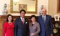 Gobernadora general de Nueva Zelanda admira los éxitos de Vietnam