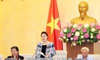 Culmina la XXIV reunión del Comité Permanente del Parlamento vietnamita