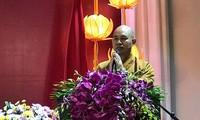 Venerable Thich Duc Thien, primer vietnamita condecorado con la Orden Padma Shri de la India