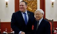 Vietnam y Estados Unidos por vigorizar relaciones de amistad y cooperación
