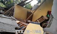 Al menos 10 personas murieron tras el terremoto en Indonesia