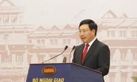 Sector diplomático de Vietnam busca elevar la eficiencia de la cooperación con socios importantes