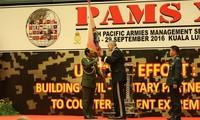Celebrarán el seminario de Gestión de Ejércitos del Pacífico en Hanói