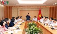 Vietnam impulsa preparativos del programa por los pobres 2018