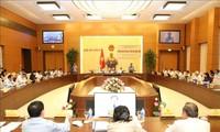 Preparan agenda de XXVII reunión del Comité Permanente del Parlamento vietnamita