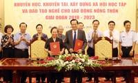 Vietnam promueve el estudio y formación vocacional