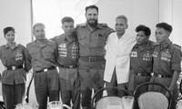 Delegación cubana visita los lugares que pisó Fidel hace 45 años en Vietnam