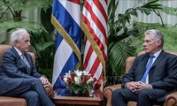 Presidente cubano evalúa relaciones con Estados Unidos