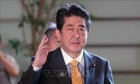 Premier japonés publica plan diplomático tras ser reelegido