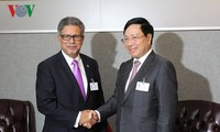Vietnam promueve nexos con varios países durante la 73 Asamblea General de la ONU