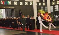 Inician acto fúnebre en homenaje a Do Muoi, ex secretario general del Partido Comunista de Vietnam