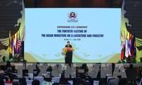 Inauguran la 40 conferencia ministerial de Agricultura y Silvicultura