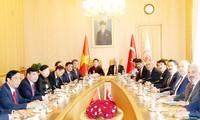 Vietnam y Turquía vigorizan cooperación en múltiples terrenos