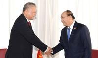Premier vietnamita aboga por fomentar la cooperación comercial con Indonesia