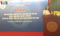 Proporcionan informaciones sobre el CPTPP a empresas vietnamitas