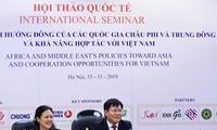 África y Medio Oriente aprecian papel de Vietnam en sus políticas hacia el Oriente