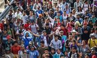 Migrantes centroamericanos colapsan la ciudad fronteriza de Tijuana
