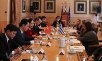Vietnam y Grecia interesados en cooperar en cultura, turismo y comercio